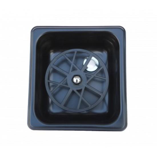 The Rinser - Pitcher Rinser Flush Device Rinse Milk Pitcher Black Mat TR113