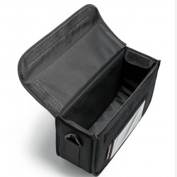 Isothermal Coffee Delivery Bag Black 3 Seats