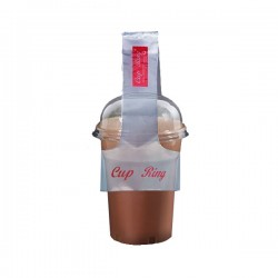 Cup Ring Coffe Carrying Bags For 1 Cups 100pcs