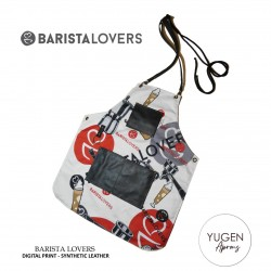 "Yugen Aprons ""Barista Lovers"" Premium Double Digital Print"