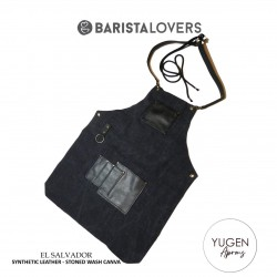 "Yugen Aprons ""El Salvador"" Premium Apron With Double Stoned Wash Canva"