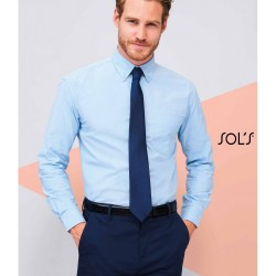 Sol's Boston Men's Long Sleeve Oxford Shirt