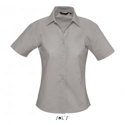 Sol's Elite Women's Oxford Short Sleeve Shirt