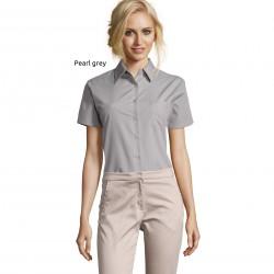 Sol's Escape Women's Short Sleeve Poplin Shirt