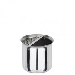 Short Pot Inox With Strainer