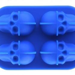 Ilsa Mixage Mold For Ice-Skulls Silicone
