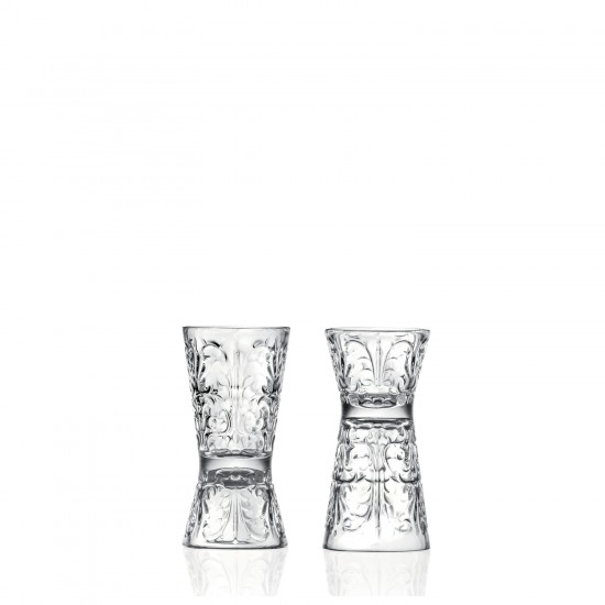 RCR Cristalleria Italiana Mixology Tattoo Jigger-Shotglass