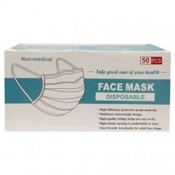 Disposable Hygiene Masks 3ply 50 pcs.