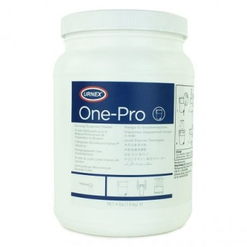 Urnex One-Pro Σκόνη Καθαρισμού Εξοπλισμού Παρασκευής Κρύων Ροφημάτων