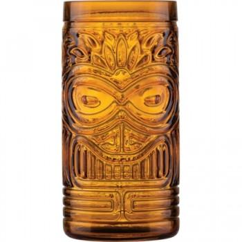 Uniglass Ποτήρι Fiji Πορτοκαλί Διάφανο