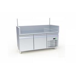 Bar Station Crepe Counters With Refrigeration