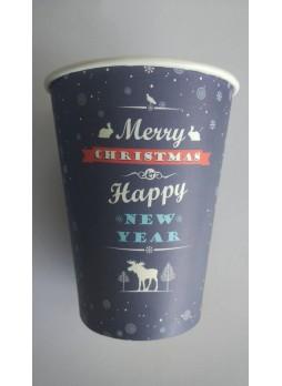 Χάρτινο ποτήρι 14oz Χριστούγεννα