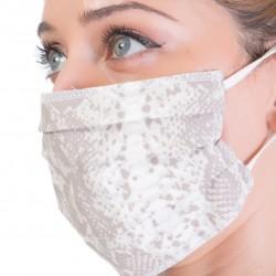 Protective Textile Multipurpose Face Mask Handmade