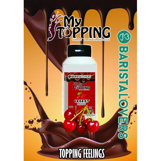 My Topping Cherry Syrup 1 kg