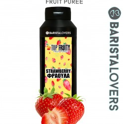 Fruit Puree Strawberry Top Fruity 1kg