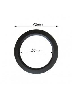 Φλάντζα Portafilter για Wega 72x56xH.8.5mm NBR με 3 εσωτερικές εγκοπές