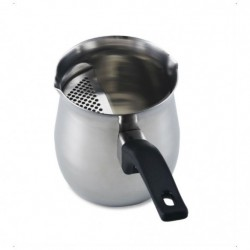 Briki inox with strainer 650ml