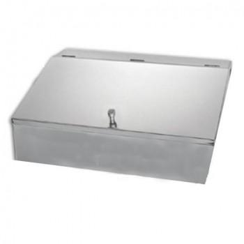 Κουτί Αποθήκευσης Καφέ Inox - 3 θέσεων