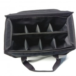 Isothermal Coffee Delivery Bag Black 8 Seats