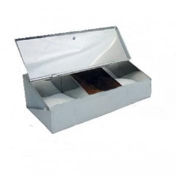 Κουτί Αποθήκευσης Καφέ - 3 θέσεων