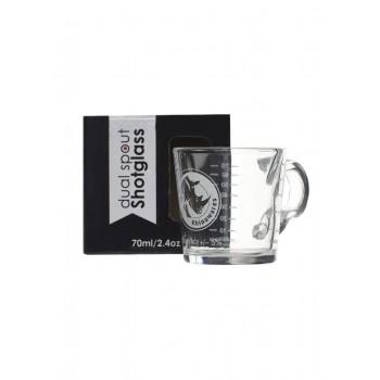 Δοσομετρικό Ποτηράκι Rhino Coffee Gear Shot Glass - Double