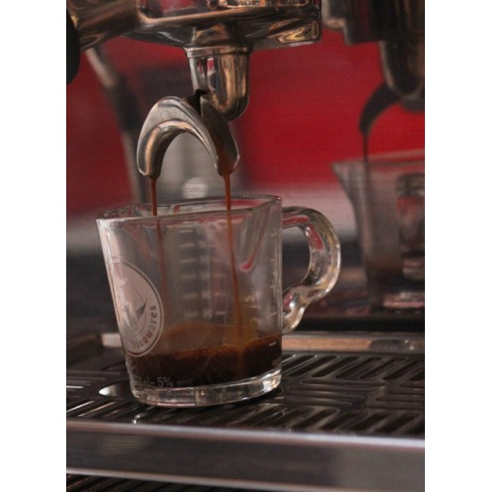 Rhino Coffee Gear Shot Glass - Double