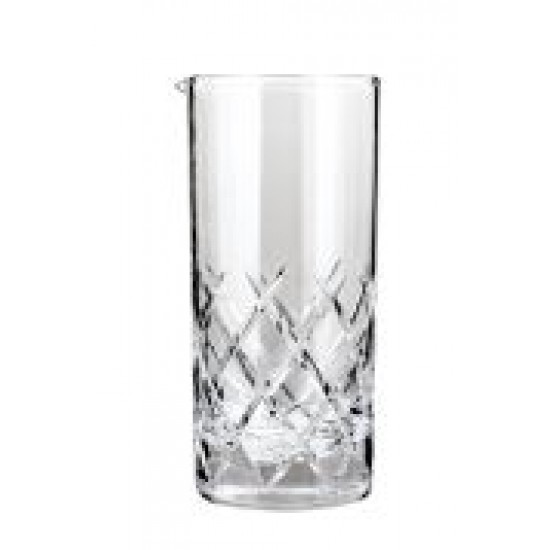"Glass ""Diamond"" 24oz"