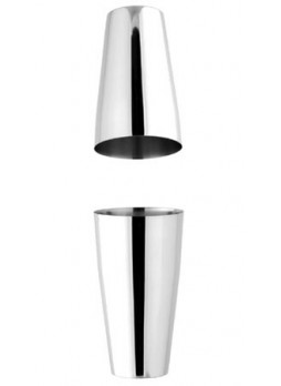 Boston shaker (2 stainless steel elements) 399A Metallurgica Motta