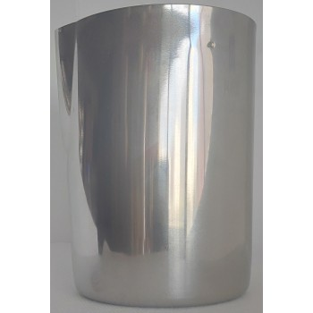Shaker Inox18/10 Με Σίτα και Στόμιο 4 σε 1 για Freddo - Σοκολάτα - Αφρόγαλα - Mixing Glass 650ml