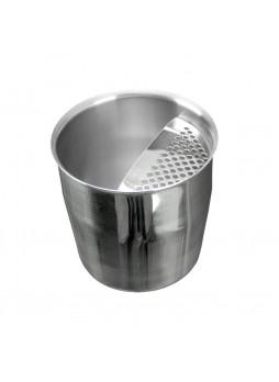 Κοντό Σκεύος Inox18/10 Με Σίτα 350ml για απευθείας εφαρμογή κάτω από την μηχανή καφέ