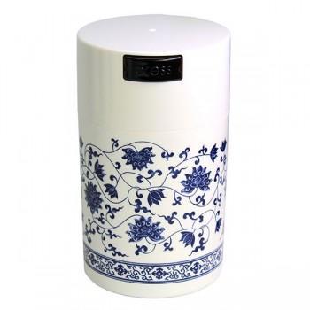 TightVac TV3-SWWF Teavac - White Floral Design 0.57lt - 150gr - 6 oz Δοχείο Αποθήκευσης Vacuum