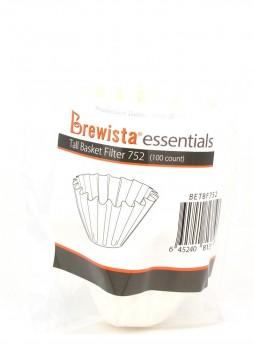 Brewista Essentials Basket Filter Papers (100τμχ)
