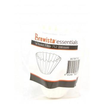 Brewista Essentials Basket Χάρτινα Φίλτρα 100τμχ