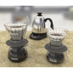 Brewista Smart Dripper™ Flat V Cone Glass Dripper