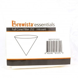 Brewista Essentials V Cone Filters Size 2 100pcs