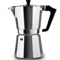 Pezzetti Italexpress Moka Espresso Coffeemaker 1 Cup Black