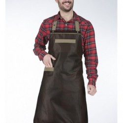 Apron Barista leather