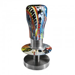 Adjustable Dynamometric Coffee Tamper  Aluminium Handle And Stainless Steel Base