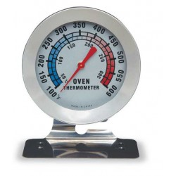 Oven thermometer w/ base