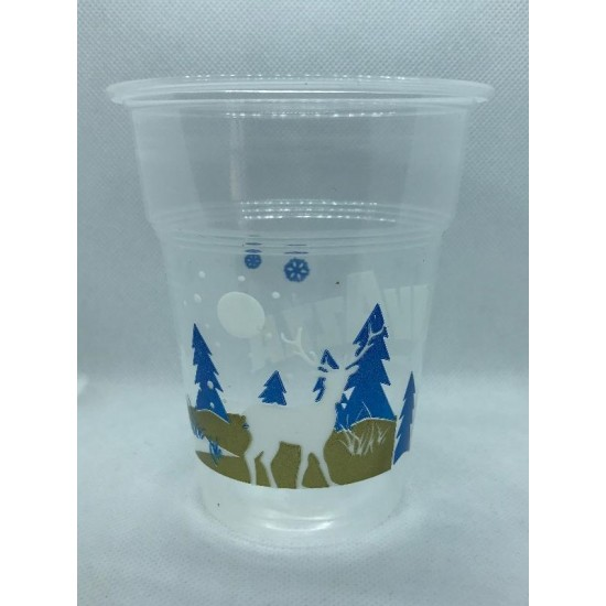 Plastic Christmas Cup Lavazza 300ml