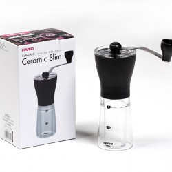 Hario Coffee Mill Ceramic Slim Black