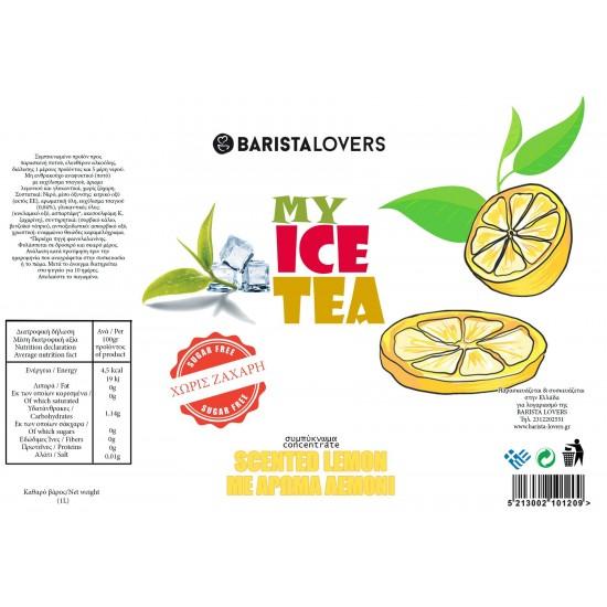 My Ice Tea Concentrate Lemon 1Lt