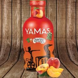 Yamas Black Ice Tea Peach & Honey