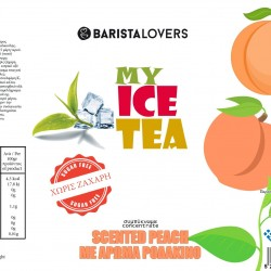 My Ice Tea Concentrate Peach 1Lt