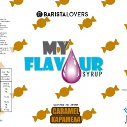 My Flavour Syrup Caramel 1lt