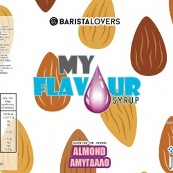 My Flavour Syrup Almond 1lt