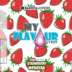 My Flavour Syrup Strawberry 1lt