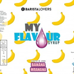 My Flavour Syrup Banana 1lt
