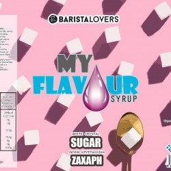 My Flavour Syrup White Sugar 1lt