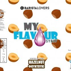 My Flavour Syrup hazelnut 1lt